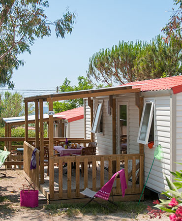 Camping La Tour Fondue Azur MOBILE HOME